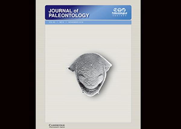 Journal of Paleontology cover