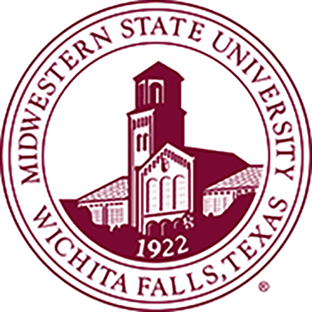 Midwestern State University maroon seal